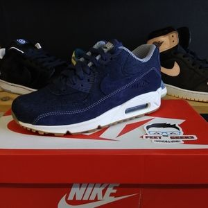 WOMENS NIKE AIR MAX 90 DENIM SIZE 6.5 NEW WITH BOX